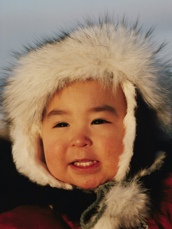 damien-paul-portrait-of-an-inuit-child