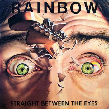 Rainbow - Straight Between The Eyes  - 1982 (Hard Rock)(Front)
